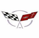 Corvette Air Intake Bridge Decal : 1997-2004 C5 & Z06