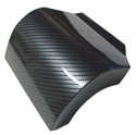 Corvette Alternator Cover - Carbon Fiber Look : 1997-2004 C5 & Z06