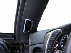 Corvette Aluminum Trim - A/C Vents (05-13 C6)