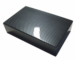 Corvette Battery Cover - Carbon Fiber Look (06-13 C6)