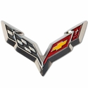 Corvette Beveled Lapel Pin : 2014 C7