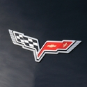 Corvette Billet Emblem Bezels : 2005-2013 C6,Z06,ZR1 and Grand Sport