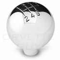 Corvette Billet Polished 6-Speed Shifter Knob (97-04 C5)