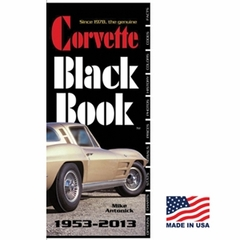 Corvette Black Book : 1953-2013