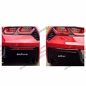 Corvette - Blackouts - Rear Bumper Lower Cover Reflectors 2pc : 2014 C7