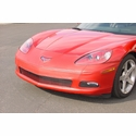 Corvette Bra - Speed Lingerie Color Matched NO License Plate Pocket : 2005-2013 C6