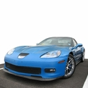 Corvette Bra - Speed Lingerie - Color Matched - NO License Plate Pocket : 2006-2013 C6 ZR1