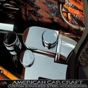 Corvette Brake Booster Cover - Polished Stainless Steel : 2009-2013 C6,Z06,Grand Sport