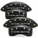Corvette Brake Caliper Cover Set (4) : 1997-2004 C5 & Z06 - Stealth Black Series