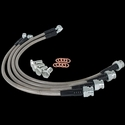 Corvette Brake Lines - Stainless Steel : 2006-2013 C6 Z06