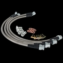 Corvette Brake Lines - Stainless Steel (Set) : 1997-2004 C5 & Z06