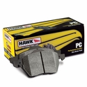 Corvette Brake Pads - Hawk Ceramic - Rear : C7 Stingray, Z51, Z06