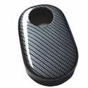 Corvette Brake Reservoir Cover - Carbon Fiber Look : 1997-2004 C5 & Z06