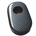 Corvette Brake Reservoir Cover - Carbon Fiber Look : 2009-2013 C6,Z06,ZR1,Grand Sport