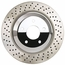 Corvette Brake Rotor Hub Covers - Chrome (Set) : 2005-2013 C6 Z51