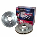 Corvette Brake Rotor Package - Baer DecelaRotors (Set) : 2005-2013 C6 Z51