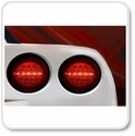 Corvette Bumper Lights for Front and Rear