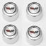 Corvette C3 Steel Center Caps for Aluminum Wheels 1976-1982 - Set of 4 - click to enlarge