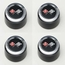 Corvette C3 Steel Center Caps for Aluminum Wheels 1976-1982 - Set of 4