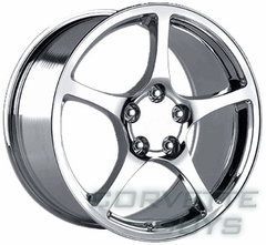 Corvette C5 Style Wheel - Chrome (17x8.5)