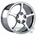 Corvette C5 Style Wheel - Chrome (17x9.5)