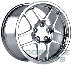 Corvette C5 Z06 Style Wheel - Chrome (17x9.5)