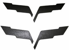 Corvette C6 Emblem Black-Out Overlay Kit : 2005-2013 C6,Z06,ZR1,Grand Sport