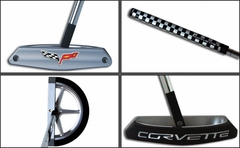 Corvette C6 Emblem Golf Putter