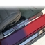 Corvette C6 Executive Series Door Sill - Polished/Brushed Inner - Colored Carbon Fiber Inlay : 2005-2013 C6 - click to enlarge