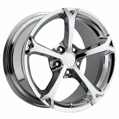 Corvette C6 Grand Sport Style Wheel - Chrome (18x9.5 C6 Z06 / C6 Grand Sport Front)