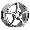 Corvette C6 Grand Sport Style Wheel - Chrome (19x10 C6 Rear)