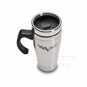 Corvette C6 Stainless Travel Mug