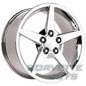 Corvette C6 Style Wheel - Chrome (17x8.5)