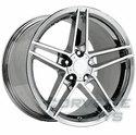 Corvette C6 Z06 Style Wheel - Chrome (19x12 + 59mm)