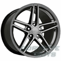 Corvette C6 Z06 Style Wheel - Comp Grey (19x10 for C6)