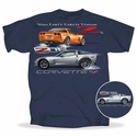Corvette C6 Z06 T-Shirt Blue - You Can�t Catch These Z�s