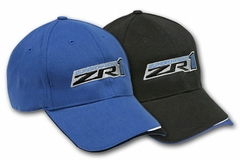 Corvette Cap - Supercharged Wave Hat with ZR1 Logo (09-12 ZR1)