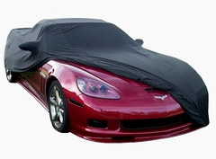 Corvette Car Cover - Indoor Super Stretch Extra Soft : 2006-2013 Z06, ZR1, Grand Sport