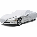 Corvette Car Cover - Silver Guard Plus (06-13 C6 Z06) - Coverking Car Covers EP3CH7950L137L83