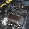 Corvette Carbon Fiber Engine Dress Up Kit : C5