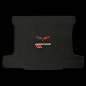 Corvette Cargo Mat with Grand Sport Front Emblem:  2010-2013 Grand Sport