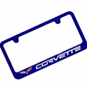 Corvette Color-Matched License Plate Frame C6 2005-2013 C6(All Colors)