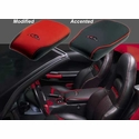 Corvette Console Cushion - Accented : 1997-2004 C5 & Z06