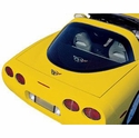 Corvette Coupe Rear Cargo Shade - Black (97-04 C5)