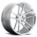Corvette Custom Wheels - Niche Enyo T76 : Hi-Luster Polished w/ Brushed Face
