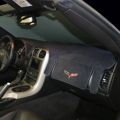 Corvette Dash Mat - Embroidered : 2005-2013 C6