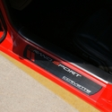Corvette - Door Sill Ease/Protector - Inner Door Sill Guards Clear : 2005-2013 C6, Z06, Grand Sport & ZR1 - Don's Specialties 2510pb