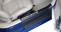 Corvette Door Sill Ease Protectors : 1997-2004 C5 & Z06