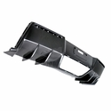 Corvette Dual Molded Strake Rear Diffuser - Carbon Fiber : C7 Stingray, Z51 & Z06