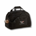 Corvette Duffle Bag - Black with C5 Logo